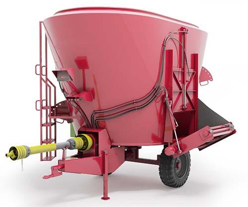 Инновационный кормораздатчик – современный агрегат на очередной сельхоз выставке